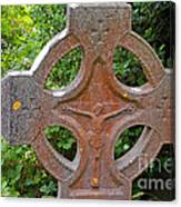 Grave Cross 5 Canvas Print