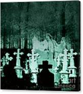 Grave Dancing Canvas Print