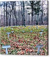 Grave Reminders Canvas Print