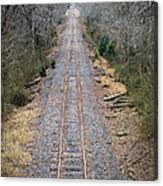 Gravel And Steel Canvas Print