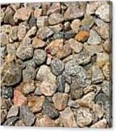 Gravel Stones Canvas Print