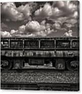 Gravel Train Canvas Print