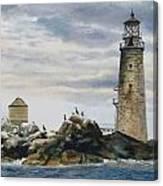 Graves Light House Canvas Print