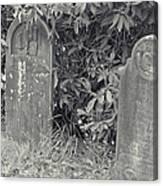 Gravesite Gearheart Oregon Canvas Print