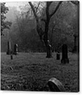 Graveyard 4 Canvas Print