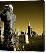 Graveyard 4730 Canvas Print
