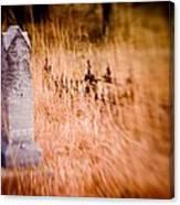 Graveyard 6792 Canvas Print