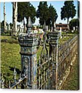Graveyard Art Canvas Print
