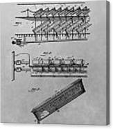 Graveyard Patent Canvas Print