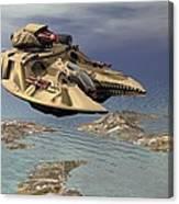 Gravity Tank Canvas Print