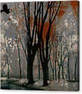 Gray Mirage Canvas Print