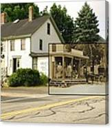 Gray's Store In Adamsville Rhode Island Canvas Print