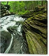 Waterfall - Grayville Everlasting Canvas Print