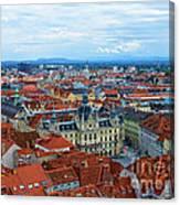 Graz Old Town Canvas Print