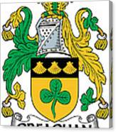 Greaghan Coat Of Arms Irish Canvas Print