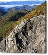 Great Balsam Mountains - Blue Ridge Parkway Canvas Print