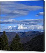 Great Balsam Mountains-north Carolina Canvas Print