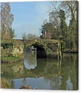 Great Bridge Warwick Canvas Print