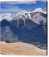 Great Colorado Sand Dunes 125 Canvas Print