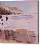 Great Day Of Surfing Canvas Print