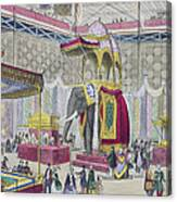 Great Exhibition, 1851 Indian Canvas Print