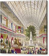 Great Exhibition, 1851 South Transept Canvas Print
