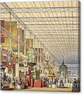 Great Exhibition Of 1851, British Nave Canvas Print