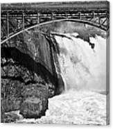 Great Falls In Paterson Nj Canvas Print