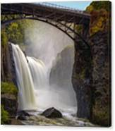 Great Falls Mist Canvas Print
