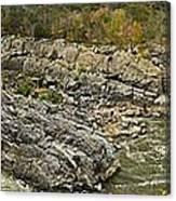 Great Falls Panorama Canvas Print