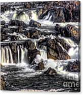 Great Falls Va Side Canvas Print