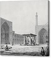 Great Friday Mosque In Isfahan Canvas Print