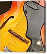 Great Guitars Canvas Print