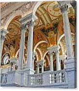 Great Hall Of The Library Of Congress  Canvas Print
