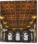 Great Hall St. Louis Central Library Canvas Print