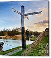 Great Haywood Junction Canvas Print