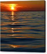 Great Lake Sunset Canvas Print