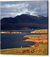 Lakes Of Ireland, Waterville, County Kerry Canvas Print
