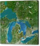 Great Lakes Canvas Print