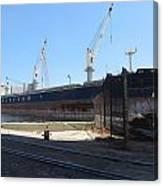 Great Lakes Ship Polsteam 4 Canvas Print