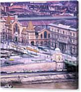 Great Market Hall Budapest Canvas Print