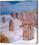 Great Oceaan Road Canvas Print