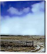 Great Plains Winter Canvas Print