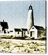 Great Point Lighthouse Nantucket Canvas Print