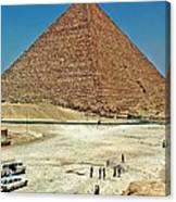 Great Pyramid Of Giza Canvas Print