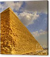 Great Pyramid Painting Canvas Print
