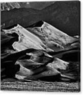 Great Sand Dune National Park At Sunrise Canvas Print