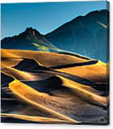 Great Sand Dunes At Dawn Canvas Print