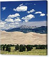 Great Sand Dunes I Canvas Print