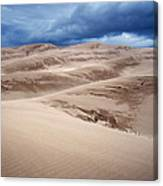 Great Sand Dunes National Park In Colorado Canvas Print